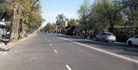 Реконструкция улицы Лермонтова в Бишкеке