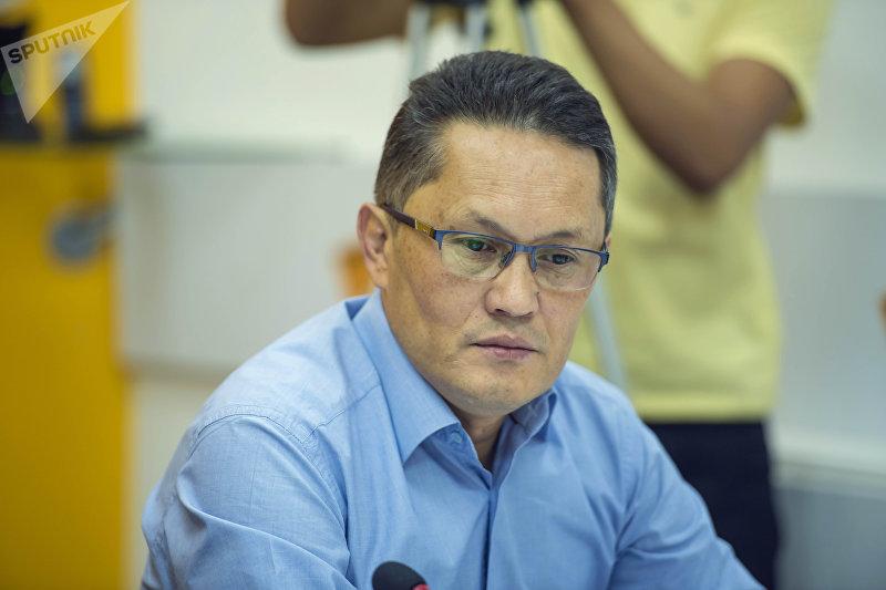 Глава общественного совета Минздрава Айбар Султангазиев