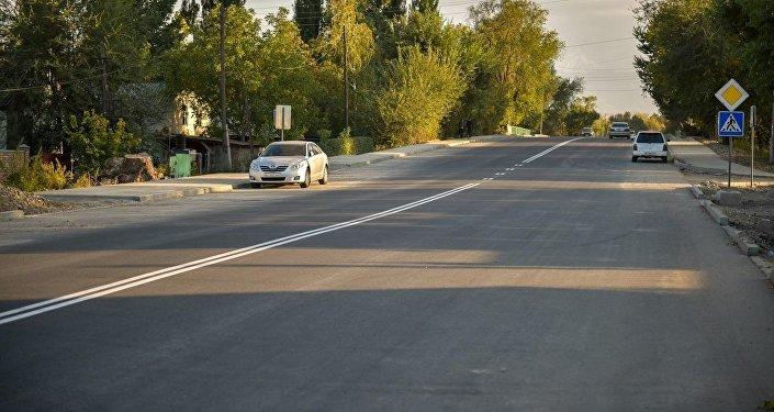 Ремонт дорог в Бишкеке