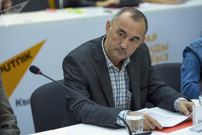 Глава общественного объединения Надежда на жизнь Уран Ибраимов.