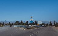 Трасса ведущая в село Кочкорка на юго-западе Кочкорского района Нарынской области. Архивное фото