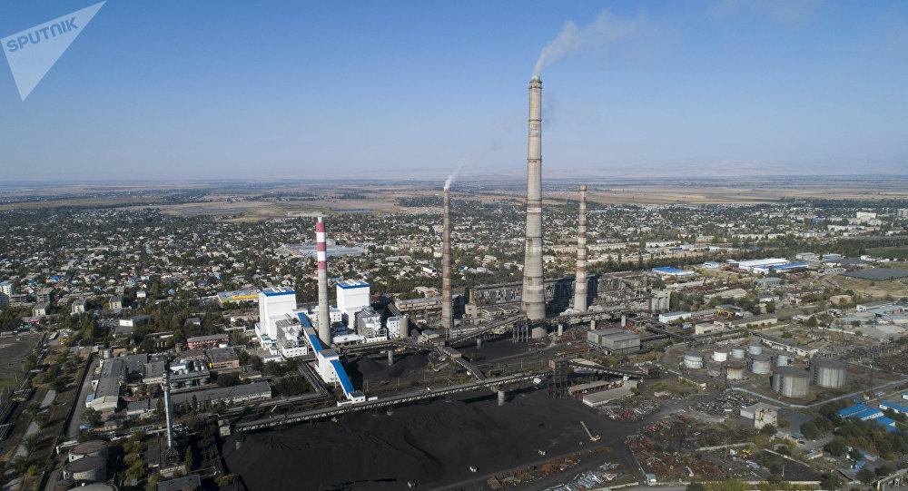 Бишкек ТЭЦи. Архивдик сүрөт