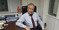 Глава Агентства гражданской авиации при Минтрансе КР Курманбек Акышев