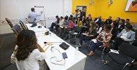 Ведущие медиаменеджеры России провели мастер-класс в Бишкеке — видео