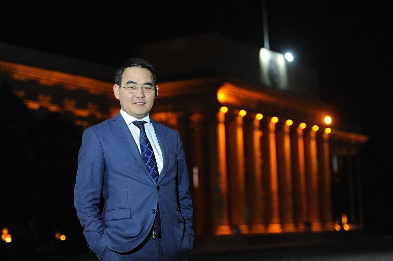 Заведующий отделом информационного обеспечения Аппарата правительства Кыргызстана Эсенгул уулу Чынгыз