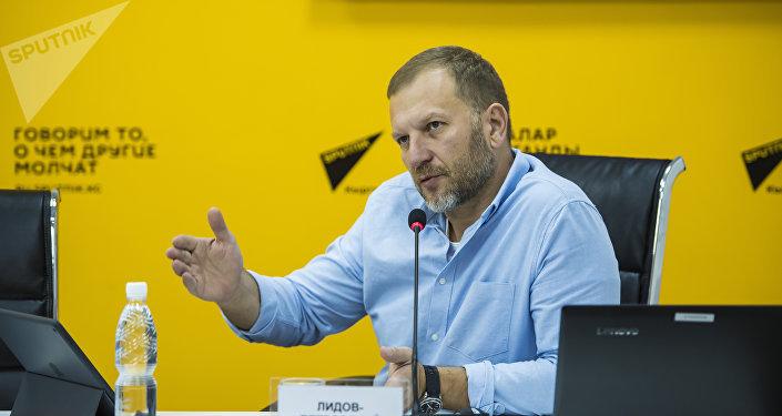 Директор по коммуникациям и связям с общественностью Sputnik Петр Лидов-Петровский