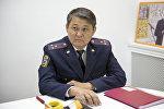 Заместитель начальника ГУПМ МВД КР Ыманалы Саркулов