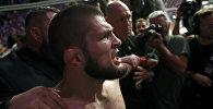 Чемпион UFC, российский боец Хабиб Нурмагомедов. Архивное фото
