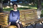 Учительница начальных классов в Бишкекской школе №10 Альбина Арстанбек кызы