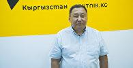 Почетный консул Кыргызстана в Томске (Россия) Рустам Абдуманапов