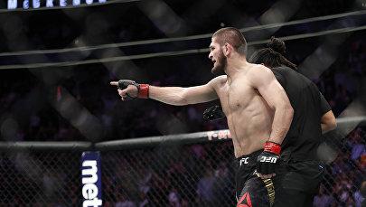 Россиялык UFC мушкери Хабиб Нурмагомедов. Архив