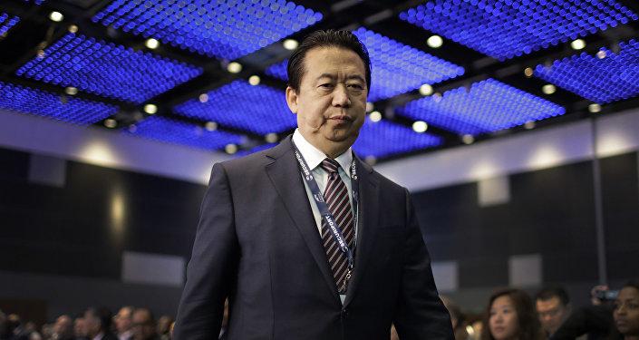 Подавший в отставку экс-глава Интерпола, заместитель министра общественной безопасности КНР Мэн Хунвэй. Архивное фото