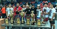 Москвада өткөн панкратион боюнча дүйнө чемпионатында 17 кыргызстандык спортчу байгелүү орундарды багындырды