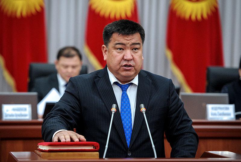 Министр сельского хозяйства, пищевой промышленности и мелиорации Нурбек Мурашев