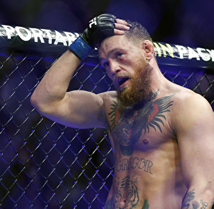Ирландиялык UFC мушкери Конор Макгрегор. Архивдик сүрөт