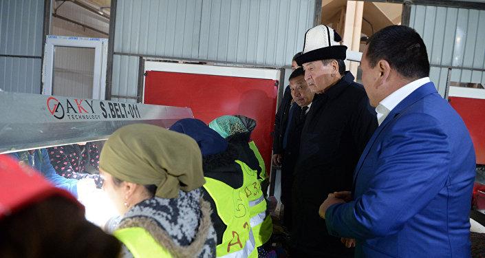Открытие завода по переработке фасоли в Таласской области