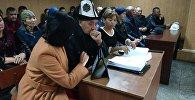 Турдали Кожоналиев, отец Бурулай, убитой в здании ОВД Жайыльского района на судебном заседании по делу об убийстве Бурулай Турдали кызы