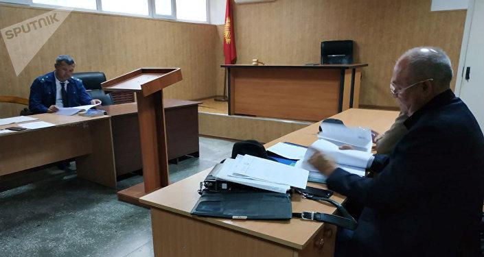 Судебное заседание по делу об убийстве Бурулай Турдали кызы