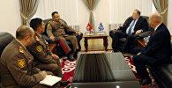 Встреча Райимберди Дуйшенбиева с главой ОДКБ