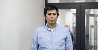 Лидер социалдык долбоорунун тартуу иштери боюнча координатору Талант Төлөбеков