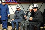 Похороны министра культуры, информации и туризма Султана Жумагулова