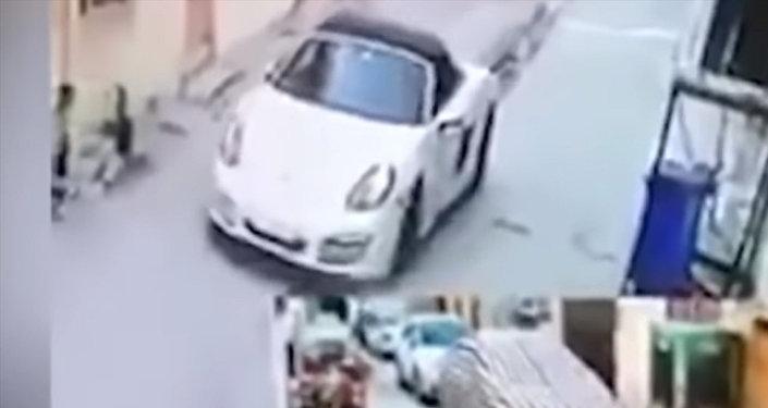 Момент убийства бывшей Мисс Ирак попал на видео