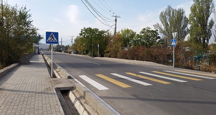 Западная сторона улицы Малдыбаева от улицы Ахунбаева до Южной магистрали открыта для проезда автомобилей после ремонта