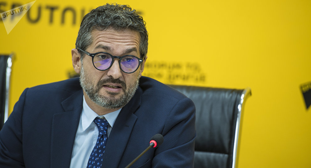 Страновой директор Всемирной продовольственной программы (ВПП) ООН Андреа Баньоли