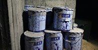Химлаборатория боевиков в сирийском городе Дума