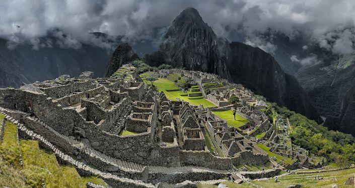 Уайна-Пикчу, Перу.