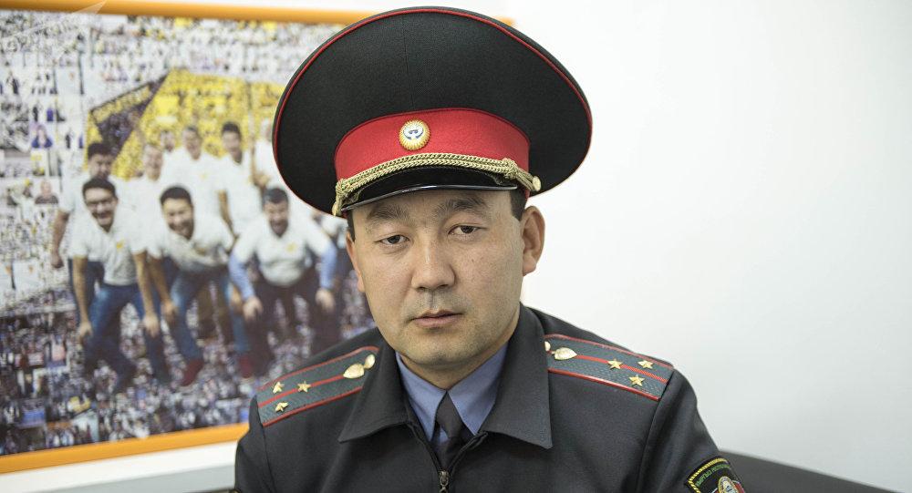 ИИМдин өкүлү Борборбек Ташматов