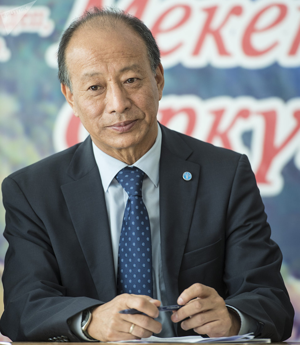 Представитель ФАО в Кыргызстане Дорджи Кинлай