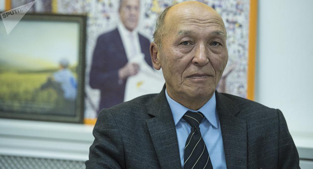 Бишкек шаарынын башкы психиатры Кеңеш Усенов
