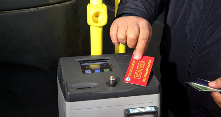 В общественном транспорте Оша впервые в Кыргызстане внедряется система электронного билетирования