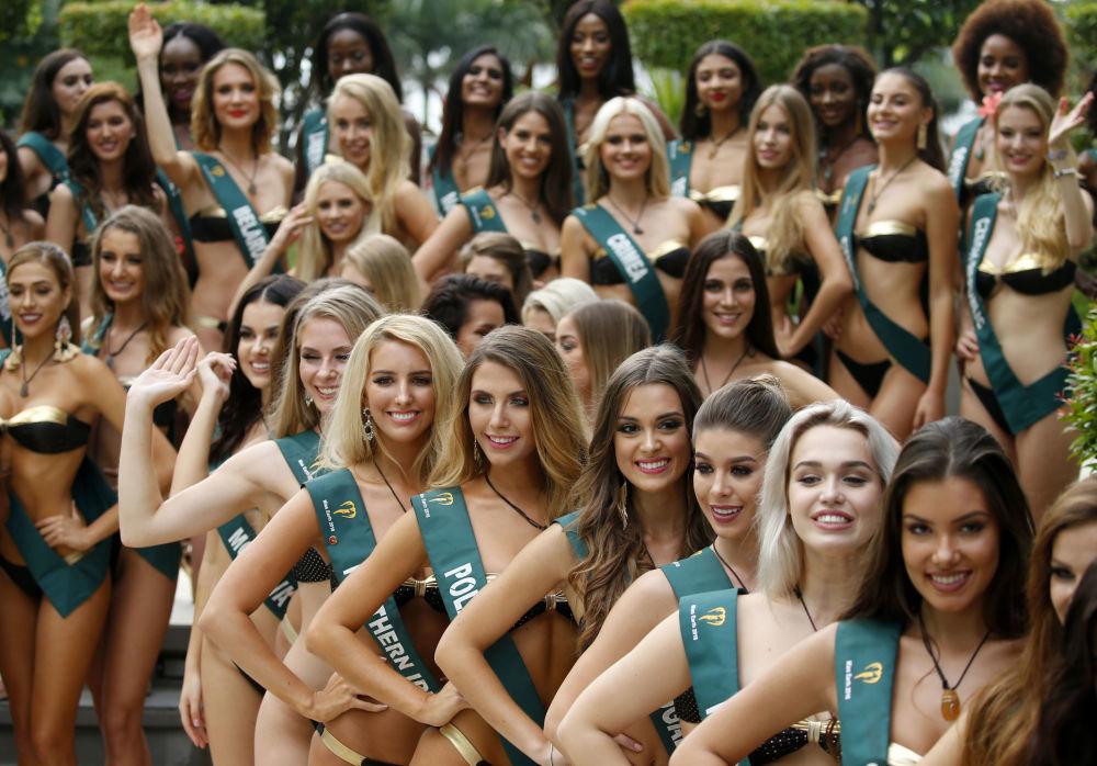 Прежде наши соотечественницы не раз удостаивались званий и призов в рамках конкурса Мисс Земля.