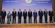 Заседание Совета глав правительств государств-членов ШОС в Душанбе