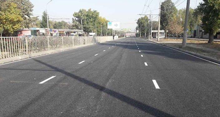 Открытие улицы 7 апреля в Бишкеке