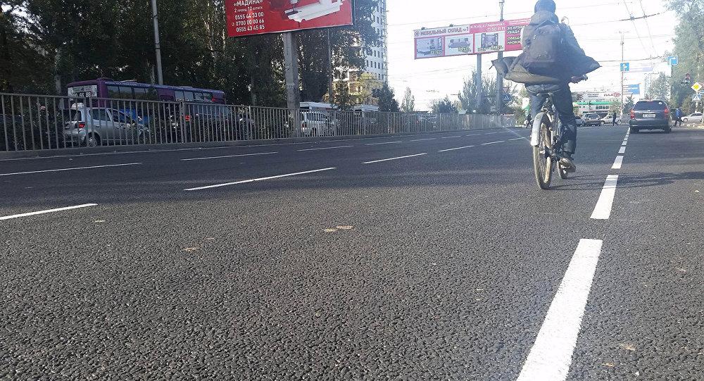 В столице после ремонта для проезда транспорта открыта улица 7 апреля (бывш. Шабдан Баатыра).
