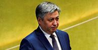 Архивное фото экс-министра иностранных дел Кыргызстана Эрлана Абдылдаева