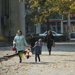 Наступление осени в Бишкеке