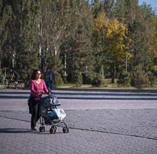 Бишкекчане спешат насладиться последними теплыми днями