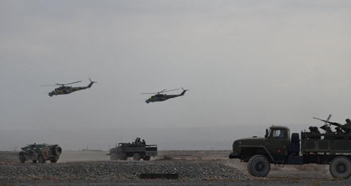 Во время учений был отработан порядок взаимодействия войск при решении поставленных задач