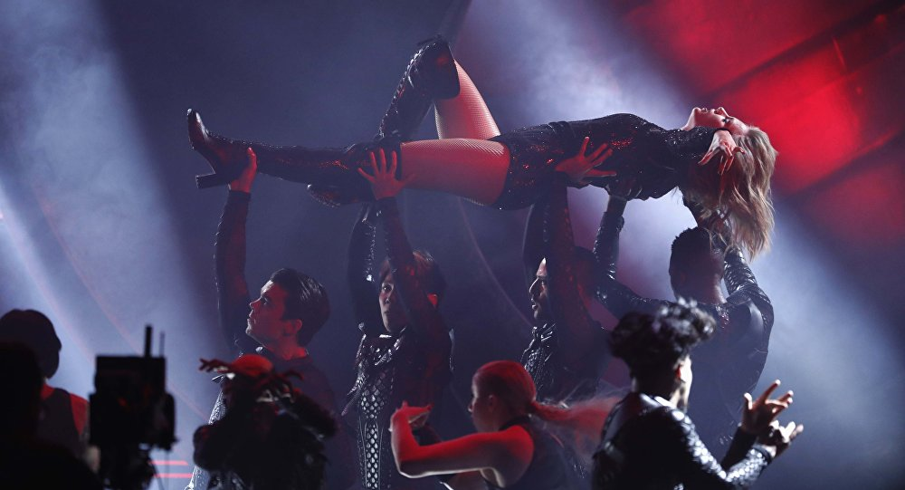 Кантри-поп-исполнительница, актриса Тейлор Свифт. Архивное фото