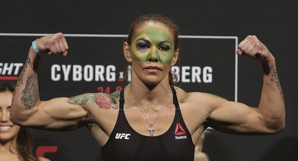 Боец UFC Крис Сайборг