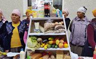 В селе Октябрь Сузакского района Джалал-Абадской области прошел фестиваль правильного питания