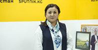 Вице-мэр города Бишкек Асель Куламбаева. Архивное фото