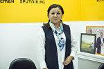 Бишкектин вице-мэри Асел Куламбаева. Архив