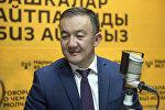 Жогорку Кеңештин VI чакырылышынын депутаты Жыргалбек Турускулов. Архив