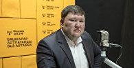 Замдиректора ГП Кыргызпочтасы Марат Чирекчиев