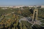 Потрясающе! Осенний Бишкек сняли с дрона — видео